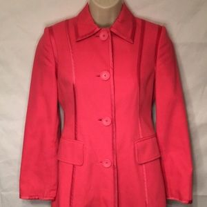 Banana Republic women's pink pea coat XS